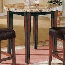 granite top round pub table top 74 fab bar table and chairs counter height round 3 piece pub set