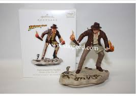 hallmark 2010 surrounded by snakes ornament raiders of the lost