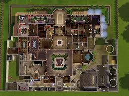 floor plans of mansions sims 3 house ideas mansion