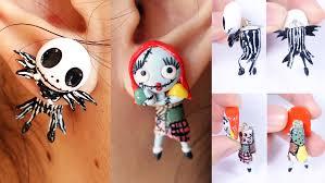Halloween Earrings Halloween Special Jack Skellington And Sally Earrings Tutorial