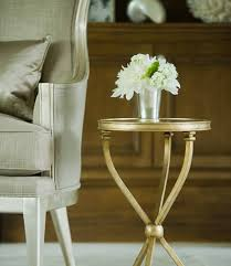 round top mirror living room accent table design ideas