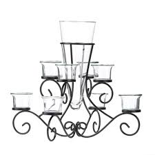 scrollwork candle stand centerpiece vase at eastwind wholesale