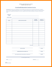 5 independent contractor invoice template artist resumes