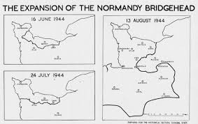 Normandy Map Hyperwar Canada U0027s Battle In Normandy The Canadian Army At War