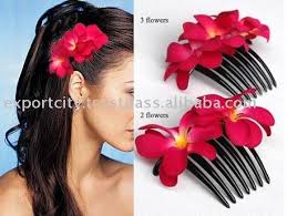 hair flower flowers for hair any color for wedding day it s a pretty and
