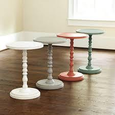 Diy Side Table Diy Pedestal Side Table