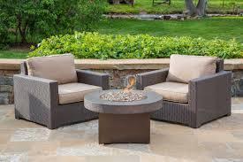 Patio Club Chair Malibu Collection Outdoor Wicker Club Chair