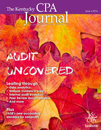 The Kentucky Cpa Journal Issue 4 2016 By Kentucky Society Of
