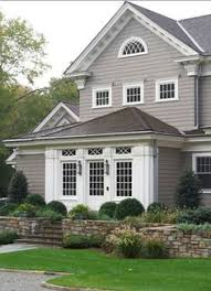 sherwin williams gauntlet gray and dorian gray exterior espresso