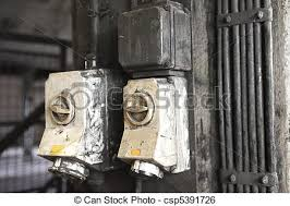 vintage industrial light switch old industrial light switches two old light switches in an stock