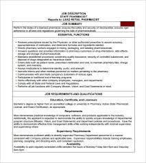 pharmacy help desk job description pharmacist job description template 10 free word pdf format