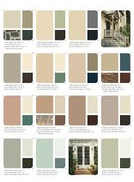 Brown Paint Colors For Exterior House - choosing exterior house paint color combinations info with schemes