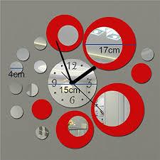 decoration interieur avec fenetre et horloge deco chambre