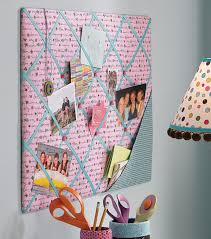 easy to make memo board for dorm room or kids bedroom board