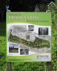 Information About Botanical Garden Information Board Homeyards Botanical Robin Stott Cc By Sa