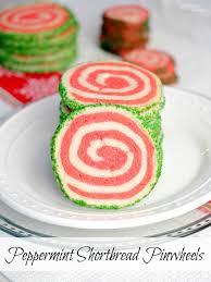 peppermint shortbread pinwheel cookies comfortably domestic