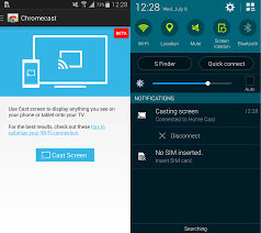 how to mirror android to chromecast screen mirroring on android android reviews how to guides