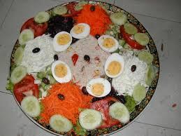 cuisine facile a faire ma salade composée la cuisine facile de mymy
