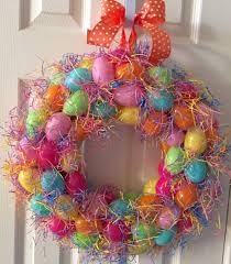 how to make an easter egg wreath how to make an easter egg wreath
