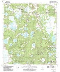 Florida State Road Map by Putnam Hall Topographic Map Fl Usgs Topo Quad 29081f8