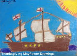 thanksgiving mayflower drawings k 6 artk 6