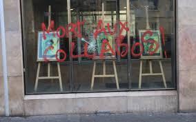 siege cfdt présidentielle le siège de la cfdt vandalisé après l appel à voter
