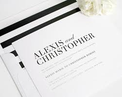 black and white striped wedding invitations wedding invitations black and white sunshinebizsolutions