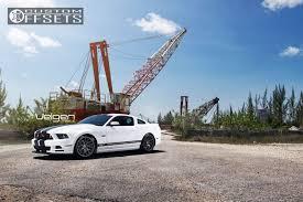 Black Rims For 2013 Mustang Wheel Offset 2013 Ford Mustang Flush Dropped 0 1 Custom Rims