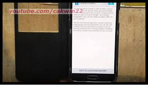 Maps Location History Samsung Galaxy S5 How To Delete Google Location History Android