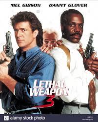 Pc M El Mel Gibson Joe Pesci U0026 Danny Glover Lethal Weapon 3 1992 Stock