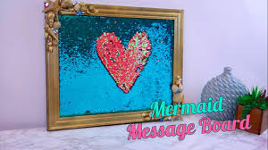 live your best mermaid life with this diy message board hellogiggles