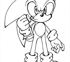 sonic coloring coloring pages adresebitkisel