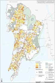 Mumbai Map Map Of U201caccessibility And Spatial Distribution Of Medical