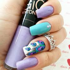25 best peacock nails ideas on pinterest peacock nail art