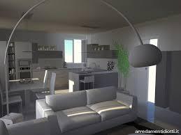 cucine e soggiorno cucina con gola e soggiorno lo opaco diotti a f arredamenti