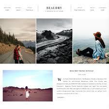 wordpress theme for photographers beaudry theme