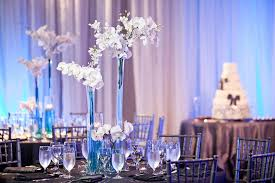 orchid centerpieces gray black white wedding archives significant events of