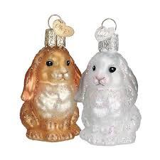 baby bunny ornament ornaments callisters