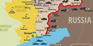 ukraine map the new map of the ukraine conflict is alarming business insider