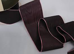 taffeta ribbon mokuba ribbon 2 moire taffeta ribbon iridescent burgundy