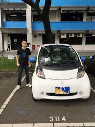 mitsubishi singapore test driving an electric car mitsubishi i miev ykm u0027s corner on