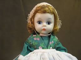 vintage madame bent knee doll from dorothy
