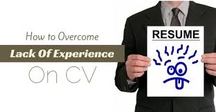 Job Experience On Resume by How To Overcome A Lack Of Experience On Cv 13 Best Tips Wisestep