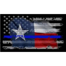 Blue And Black Striped Flag Thin Blue Line Vehicle Decals U0026 Stickers