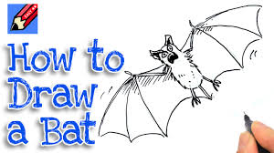 how to draw a vampire bat for halloween youtube