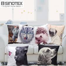 1 pcs cute animal xmas home decor 45 45cm christmas cushion covers