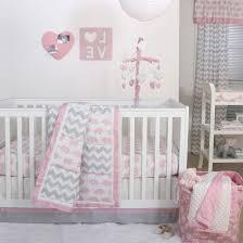 Oval Crib Bedding Bedding Cribs Country Grey Chevron Crib Bedding Design Home