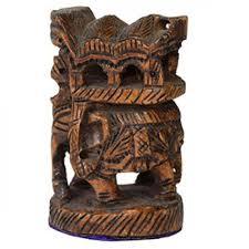 home decor handicrafts ambar elephant wooden elegant black handicrafts home decor online