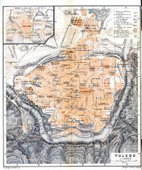 Toledo Map Free Maps Of Spain