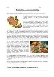 thanksgiving reading comprehension worksheets checks worksheet